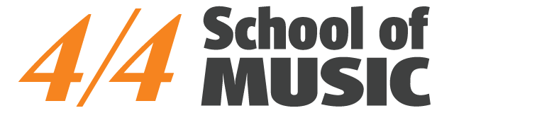 4/4 School of Music Logo