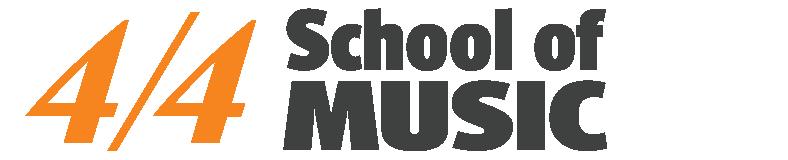 4/4 School of Music Logo